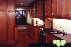 Burl Veneer Kitchen Installation