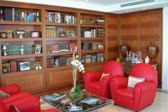 Burl Veneer Library Installation