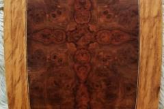 Burl Veneer Table Top